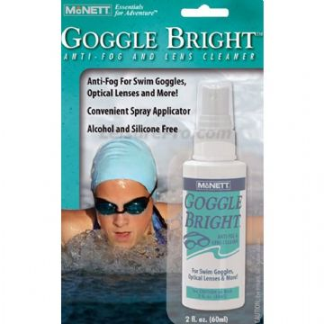 McNett Goggle Bright Swim Goggles Anti Fog and Lens Cleaner
